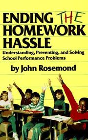 Cover of: Ending the homework hassle