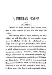 Cover of: Phidian horse
