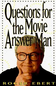 Cover of: Questions for the movie answer man