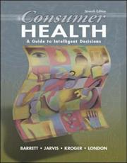 Cover of: Consumer Health: A Guide to Intelligent Decisions with PowerWeb | Stephen Barrett