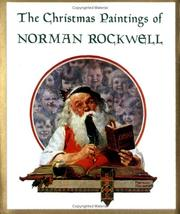 Cover of: The Christmas paintings of Norman Rockwell