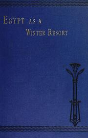 Cover of: Egypt as a winter resort | F. M. (Fleming Mant) Sandwith