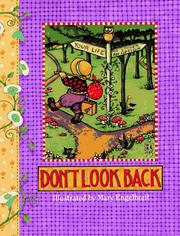 Cover of: Don't look back