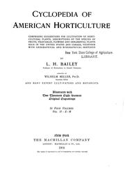 Cover of: Cyclopedia of American Horticulture
