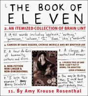 Cover of: The book of eleven: an itemized collection of brain lint