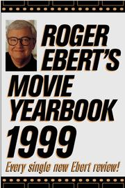 Cover of: Roger Ebert's Movie Yearbook 1999 (Serial)
