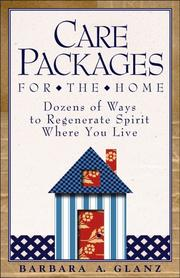 Cover of: Care packages for the home | Barbara A. Glanz