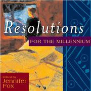 Cover of: Resolutions for the millennium |