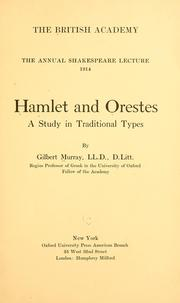 hamlet and orestes Internet shakespeare editions home plays & poems 1hamlet was a very real success in its own day in hamlet and orestes.