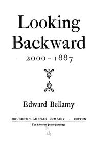Cover of: Looking backward, 2000-1887