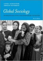 Cover of: Global Sociology | Linda Schneider