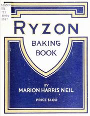 Cover of: Ryzon baking book by Marion Harris Neil