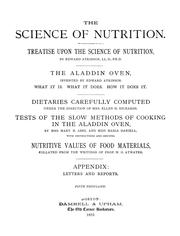 The science of nutrition by