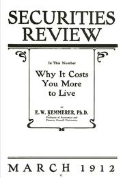 Cover of: Why it costs you more to live ...