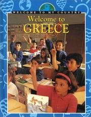 Cover of: Welcome to Greece