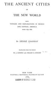 Cover of: The ancient cities of the New World