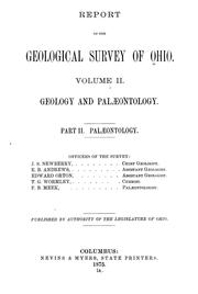 Cover of: Report of the Geological Survey of Ohio | Geological Survey of Ohio.