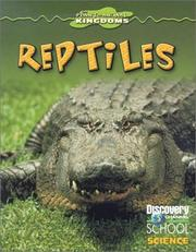 Cover of: Reptiles (Discovery Channel School Science) | Lelia Mander