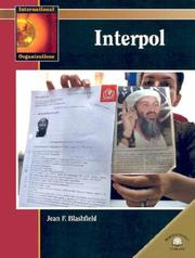 Cover of: Interpol (International Organizations) |