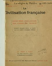 Cover of: La religion de Molière