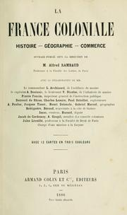 Cover of: La France coloniale