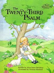 Cover of: The Twenty-third psalm | Alice Joyce Davidson