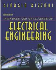 Cover of: Principles and Applications of Electrical Engineering with CD-ROM and OLC Passcode Bind-In Card