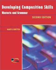 Cover of: Developing composition skills