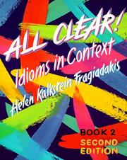 Cover of: All Clear!