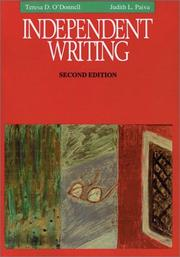 Cover of: Independent writing | Teresa D. O