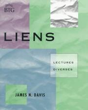 Cover of: Liens: Lectures Divers  | James N. Davis