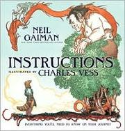 Cover of: Instructions by Neil Gaiman