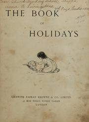 Cover of: An odd little pair ; The book of holidays. | C. Shaw