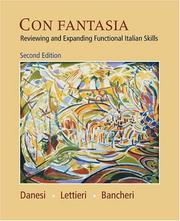 Cover of: Con fantasia: reviewing and expanding functional Italian skills