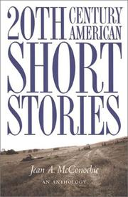 Cover of: Twentieth-Century American Short Stories | Jean A. McConochie
