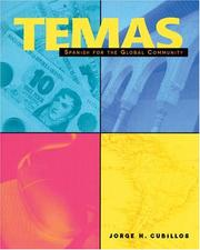 Cover of: Temas | Jorge H. Cubillos