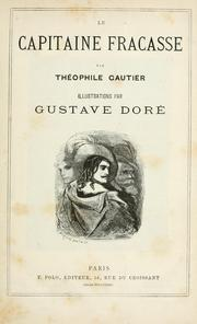 Cover of: Le capitaine Fracasse | Théophile Gautier