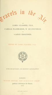 Cover of: Travels in the air