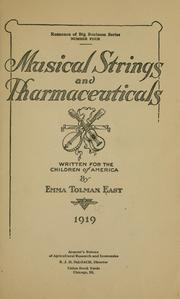 Musical strings and Pharmaceuticals
