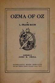 Cover of: Ozma of Oz by L. Frank Baum