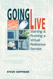 Cover of: Going live | Steve Coffman