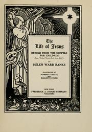 Cover of: The life of Jesus |
