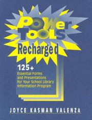 Cover of: Power tools recharged