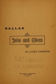 Ballad-- John and Eileen