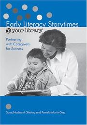 Cover of: Early literacy storytimes @ your library | Saroj Nadkarni Ghoting