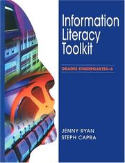 Cover of: Information literacy toolkit. | Jenny Ryan