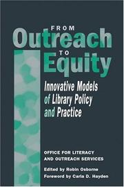 Cover of: From Outreach to Equity |