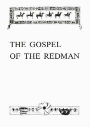 Cover of: The Gospel of the Redman