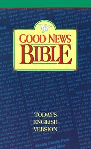 Cover of: Good News Bible |