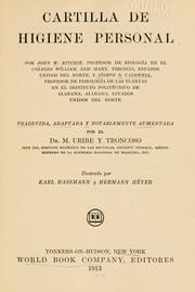 Cover of: Cartilla de higiene personal by John W. Ritchie